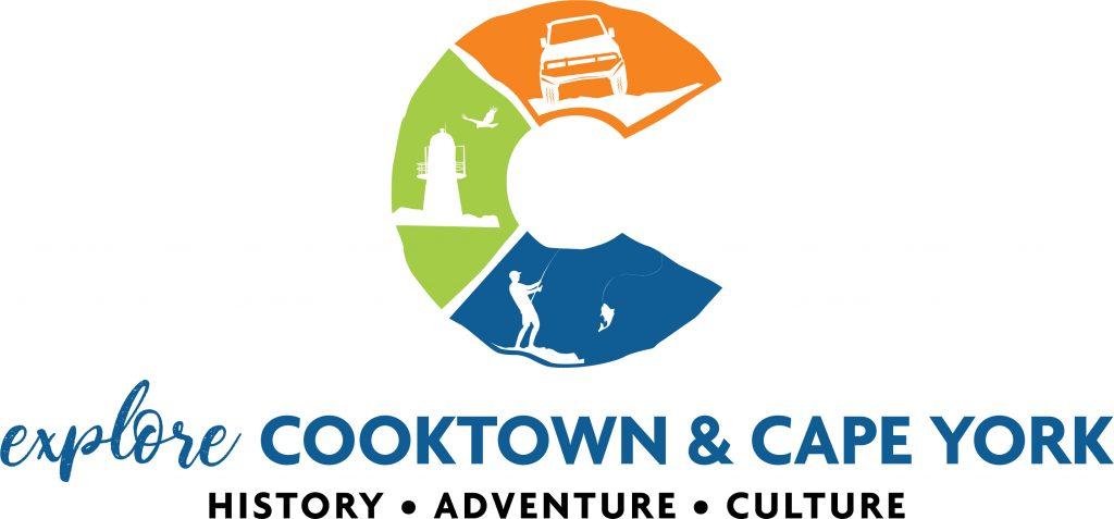 cooktown capeyork logo graphic design
