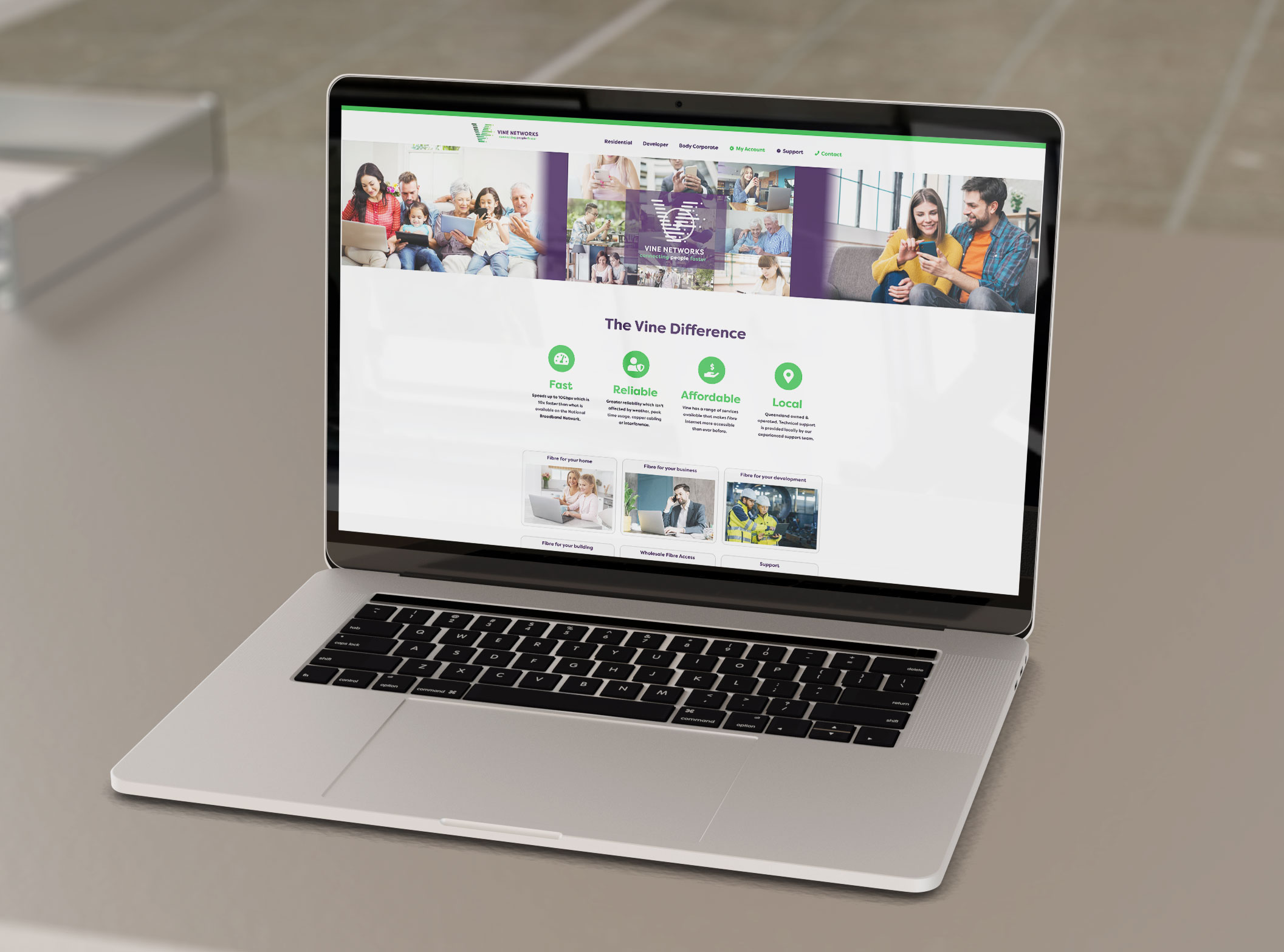 vine website
