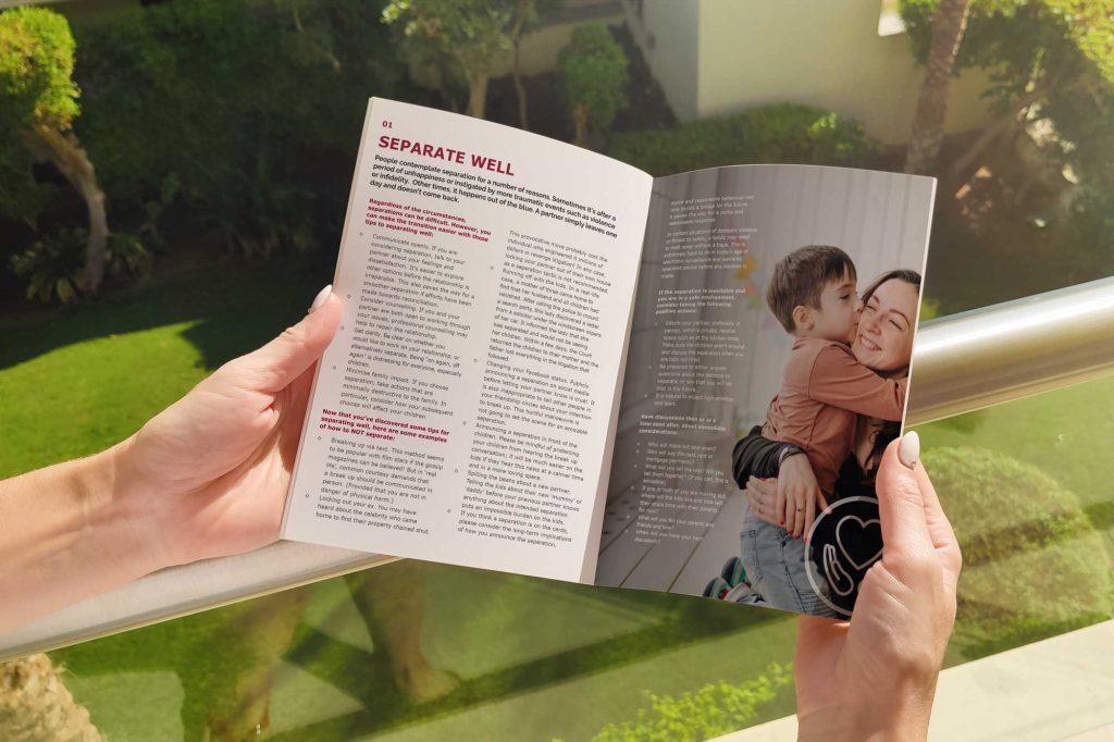 Pippa colman brochure print graphic design