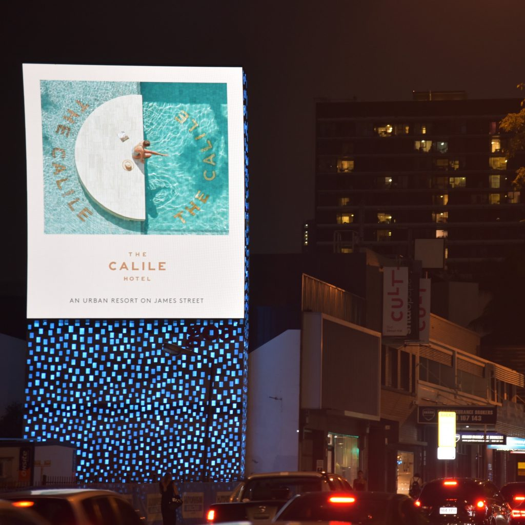 calile hotel digital advertising