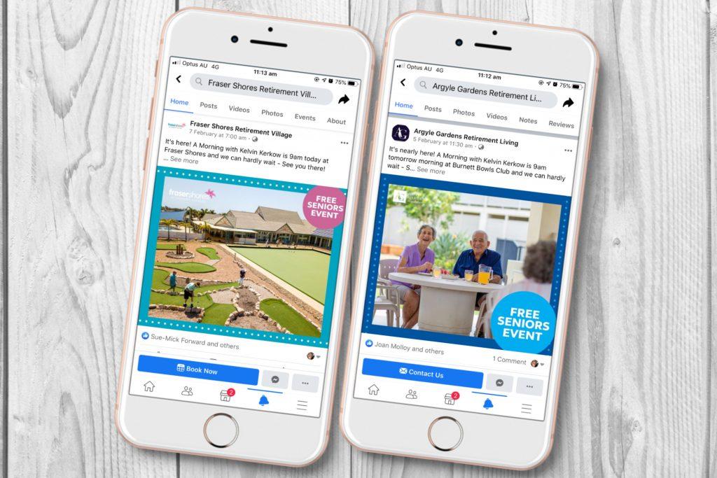 bluecare social media marketing