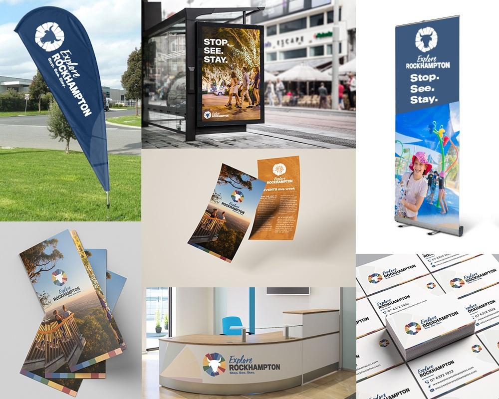 rockhampton branding graphic design